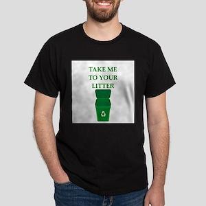 garbage man joke Dark T-Shirt
