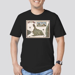 Vintage Map of Bali Indonesia (1760) T-Shirt