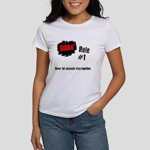 NCIS Gibbs' Rules #1 Women's T-Shirt
