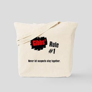 NCIS Gibbs' Rules #1 Tote Bag