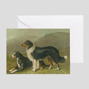 Sheepdogs Greeting Card