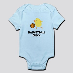 Basketball Chick Infant Bodysuit