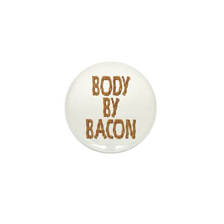 Body By Bacon Mini Button (10 pack)