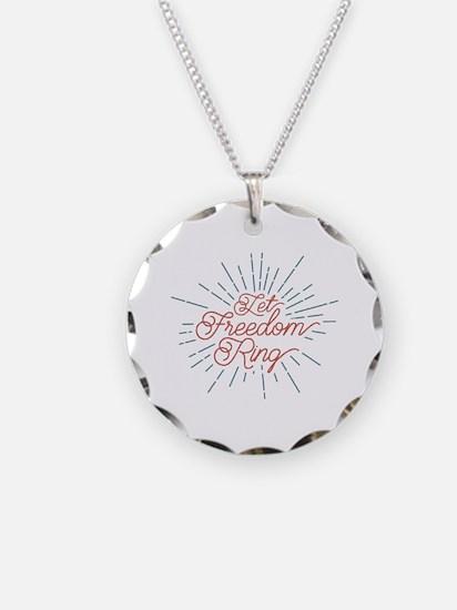 Unique Let freedom Necklace