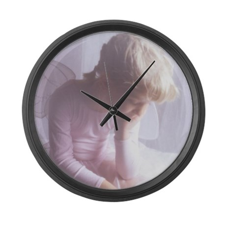 Little Angel Large Wall Clock