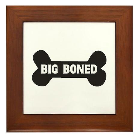Big Boned Framed Tile