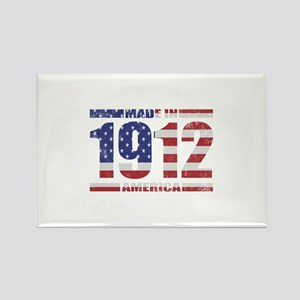 1912 Made In America Rectangle Magnet