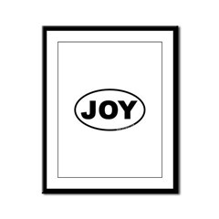 Joy Framed Panel Print