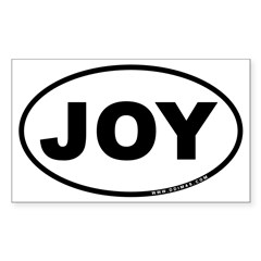 Joy Sticker (Rectangle)
