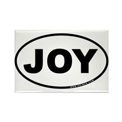 Joy Rectangle Magnet