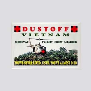 dustoff Rectangle Magnet