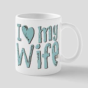 I heart my Wife Mug