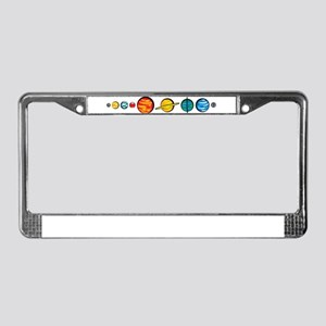 Pluto Who? License Plate Frame