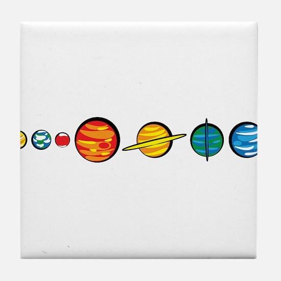 Pluto Who? Tile Coaster