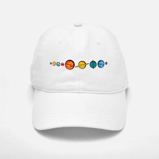 Pluto Who? Baseball Baseball Cap