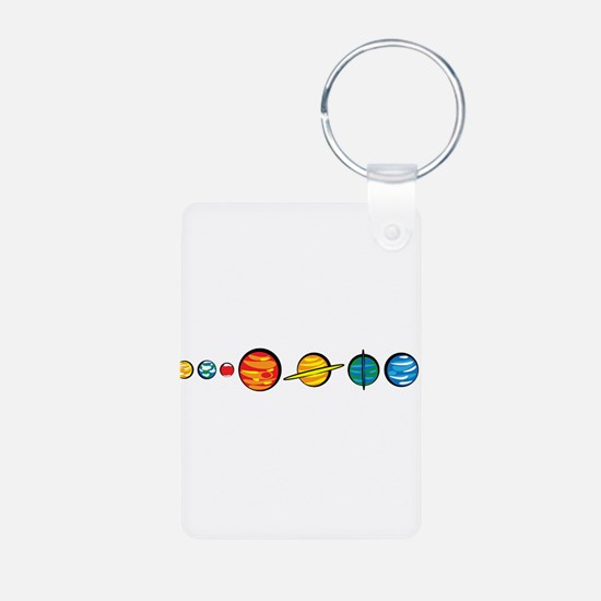 Pluto Who? Keychains