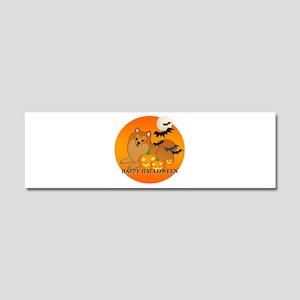 Pomeranian Car Magnet 10 x 3