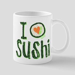 I Heart Sushi Mug