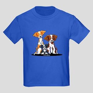 Brittany Trio Kids Dark T-Shirt