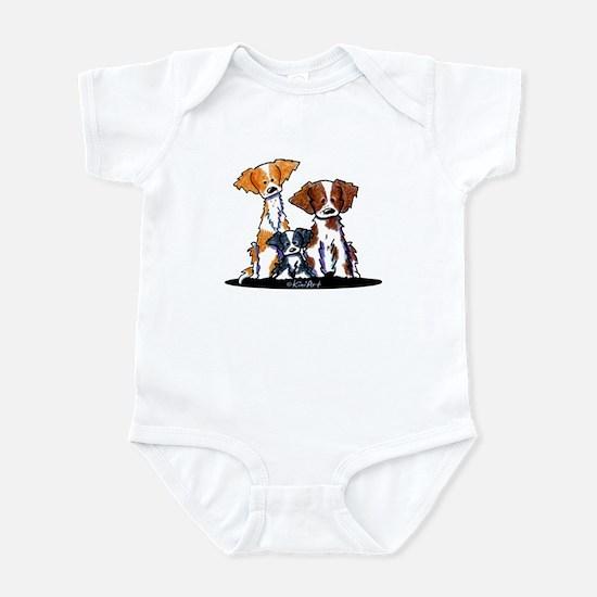 Brittany Trio Infant Bodysuit