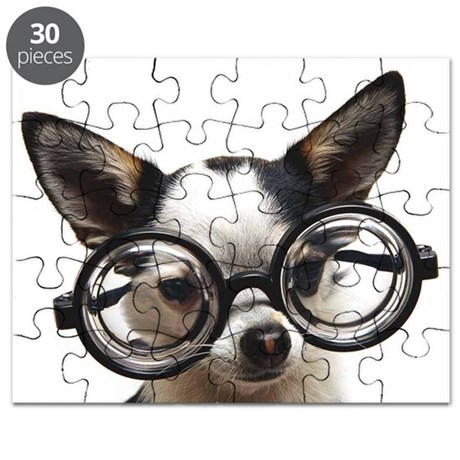 STUDIOUS CHIHUAHUA Puzzle