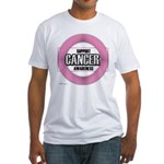 Cancer Awareness Fitted T-Shirt