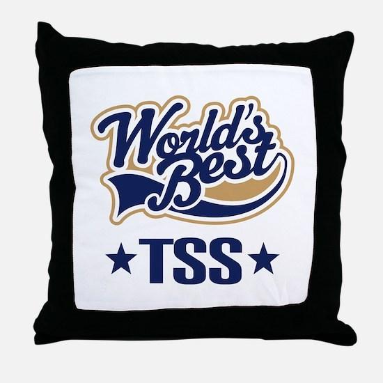 TSS Gift (World's Best) Throw Pillow