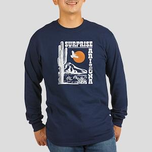 Surprise Arizona Long Sleeve Dark T-Shirt