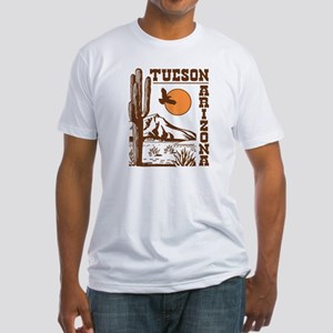 Tucson Arizona Fitted T-Shirt