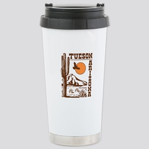 Tucson Arizona Stainless Steel Travel Mug
