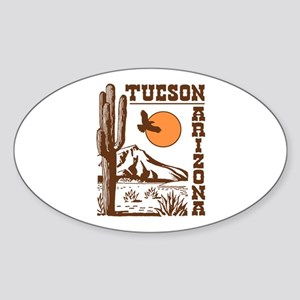 Tucson Arizona Sticker (Oval)