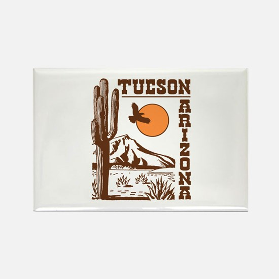 Tucson Arizona Rectangle Magnet