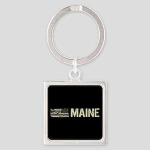 Black Flag: Maine Square Keychain