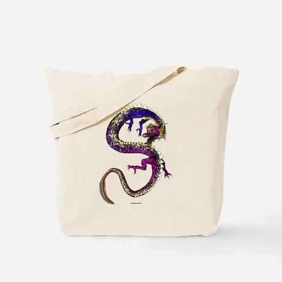 The Amethyst Dragon Tote Bag