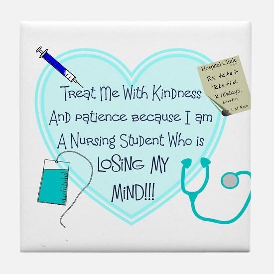 Nursing Student IV 2011 Tile Coaster