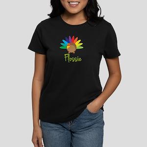 Flossie the Turkey Women's Dark T-Shirt