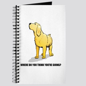 Rude Labrador Retriever Journal