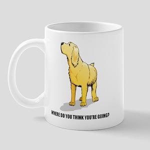 Rude Labrador Retriever Mug