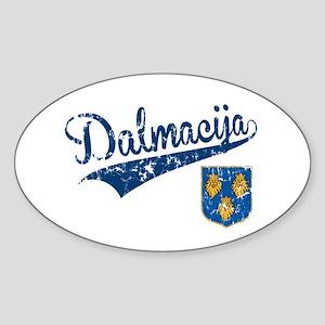 Dalmacija Sticker (Oval)