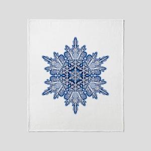 Snowflake 11 Throw Blanket