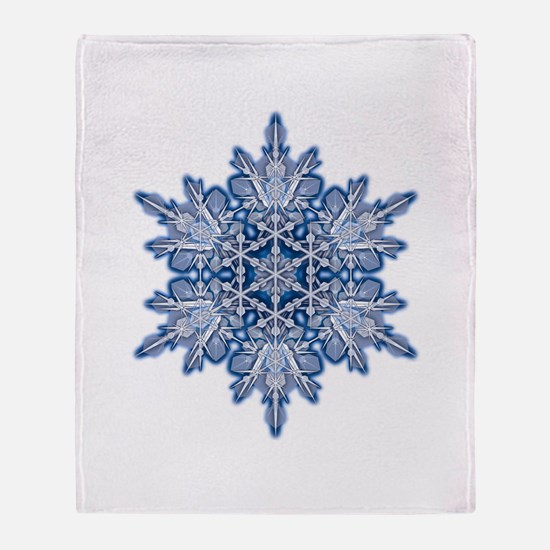 Snowflake 11 Throw Blanket