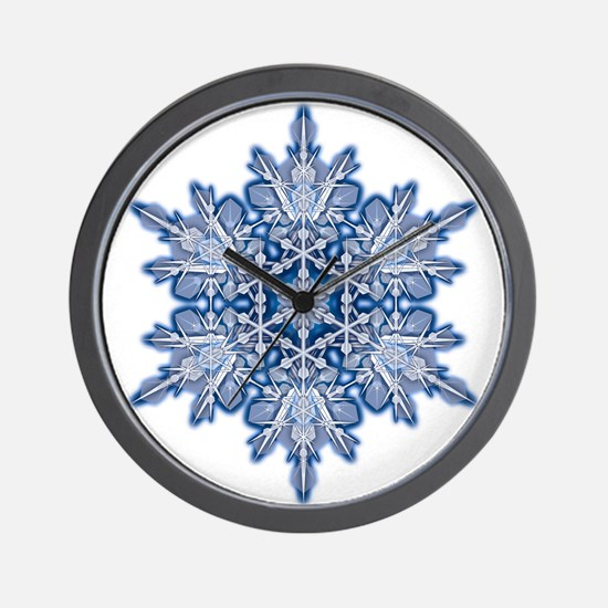 Snowflake 11 Wall Clock