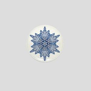 Snowflake 11 Mini Button