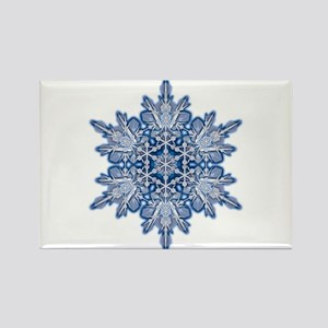 Snowflake 11 Rectangle Magnet