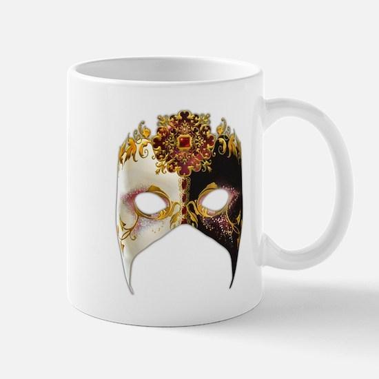 Venetian Mask: Ruby Jewel Mug