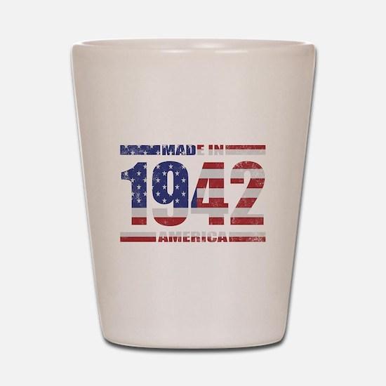 1942 Made In America Shot Glass
