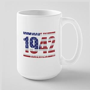 1942 Made In America Large Mug