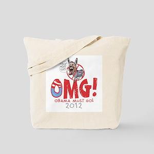 OMG! Anti-Obama Tote Bag