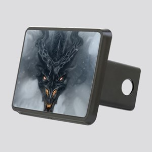 Evil Dragon Rectangular Hitch Cover
