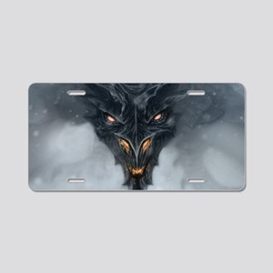 Evil Dragon Aluminum License Plate